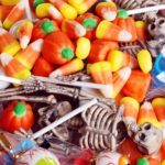 Filling up the Halloween Candy Bowl