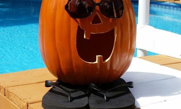 Florida Style Jack-o-lantern